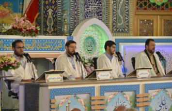 ترتیل خوانی جزء 16 - رمضان 96