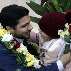 بازگشت محمدحسن موحدی، نفر دوم شانزدهمین دوره مسابقات بینالمللی قرآن تونس به میهن اسلامی