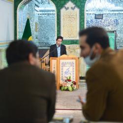 محفل انس با قرآن کریم پخش زنده از شبکه قرآن سیما 1399/11/15