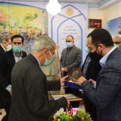 مراسم تکریم از 4 تن از پیشکسوتان مجموعه معاونت فرهنگی و روابط عمومی آستان مقدس حضرت عبدالعظیم(ع)
