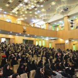 کرسی تلاوت بانوان با سخنرانی حجت الاسلام و المسلمین شهاب مرادی - بهمن 98