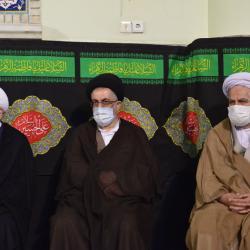 وفات حضرت عبدالعظیم(ع) با حضور خادمین - خرداد 99