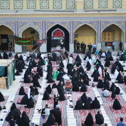 همایش سه سالههای حسینی در حرم حضرت عبدالعظیم (ع) - شهریور 1400